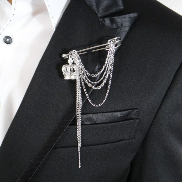 Men S Brooch Chain