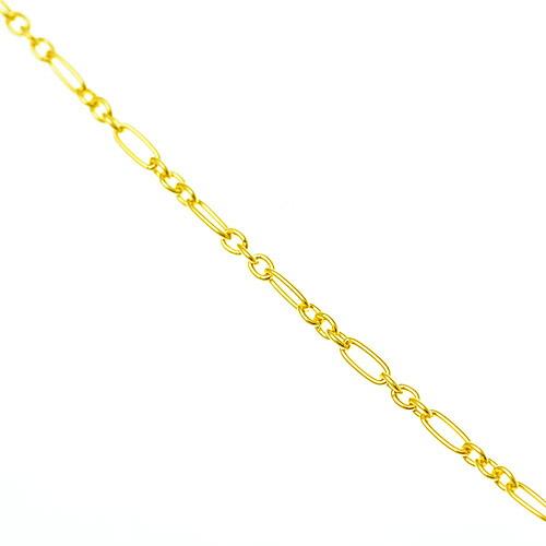 K18 ロングネックレス Long&Short chain 60