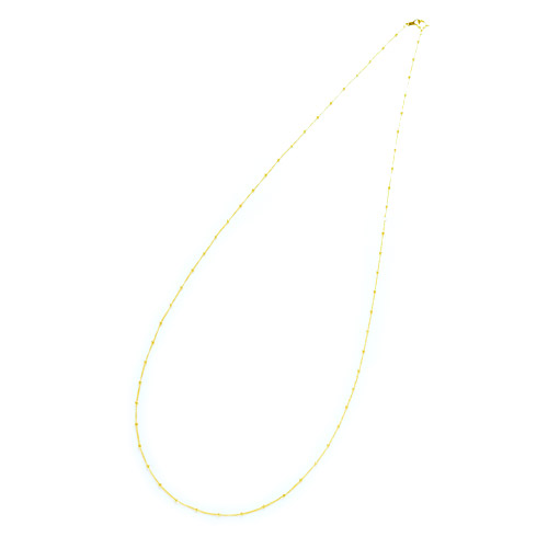 K18 necklace  K18ネックレス humming chain 60