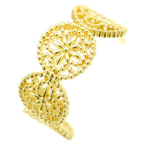 K18pierced earrings K18ピアス K18 pierced earrings flower lace