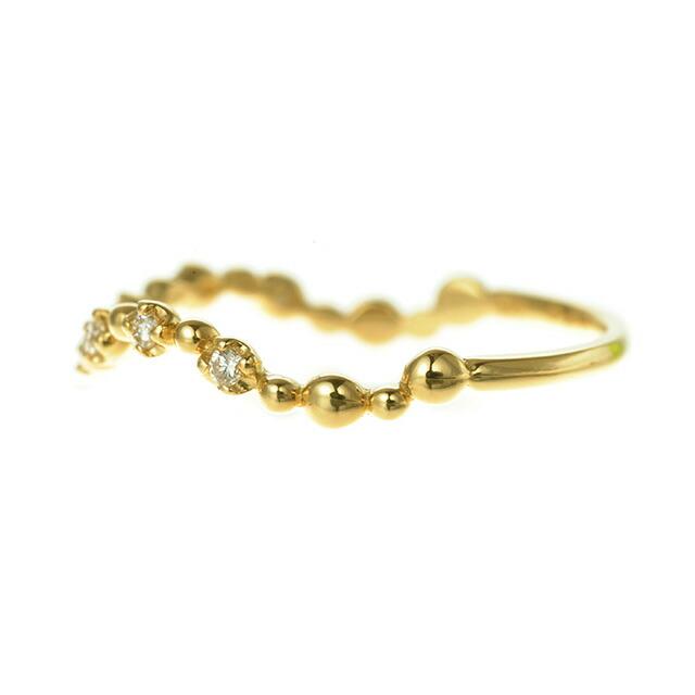 K18 diamond ring K18ダイヤモンドリング serenade