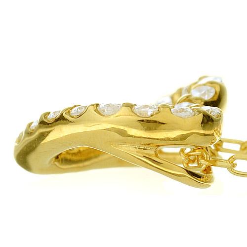K18 diamond necklace K18ダイヤモンドネックレス love petal