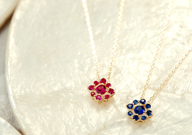 K18 necklace   K18 ネックレス gleam