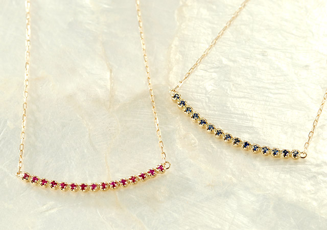K18 necklace K18 ネックレス bridge