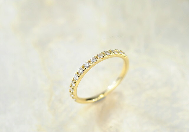 K18 diamond ring glorious 0.3ct