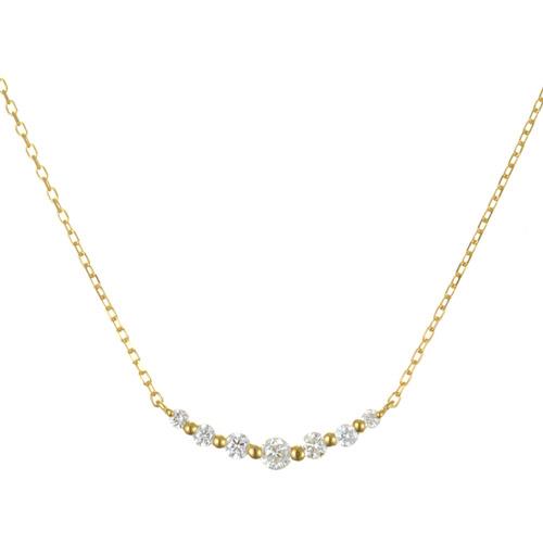 K18 diamond necklace K18 ダイヤモンド ネックレス wish