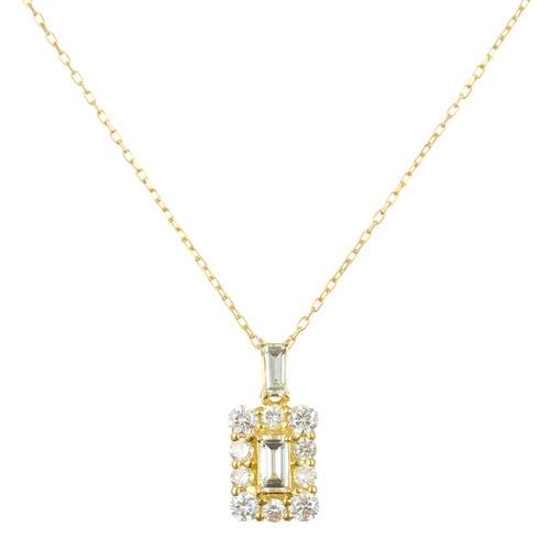K18 diamond necklace K18 ダイヤモンド ネックレス perfume