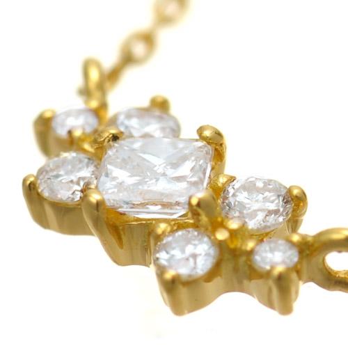 K18 diamond necklace K18 ダイヤモンド ネックレス decoration