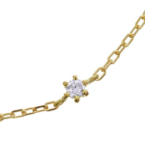 K18 diamond bracelet flight