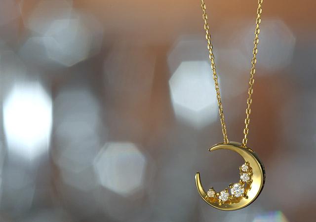 K18 ダイヤモンド ネックレス Diana