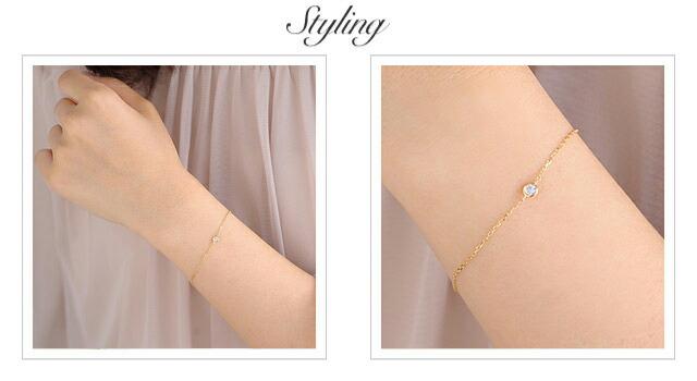 K18 diamond bracelet liberty