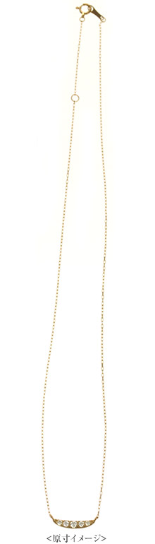 K18 diamond necklace K18 ダイヤモンド ネックレス sheen