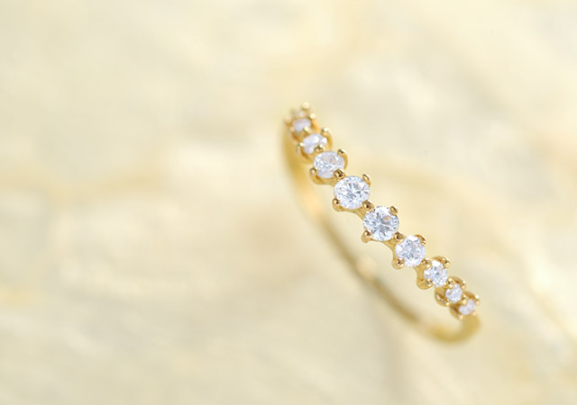 K18 ダイヤモンド リング serene