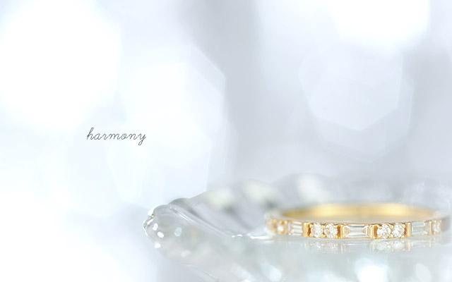 K18 ダイヤモンド リング harmony
