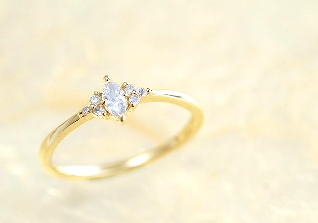 K18 ダイヤモンド リング dignity