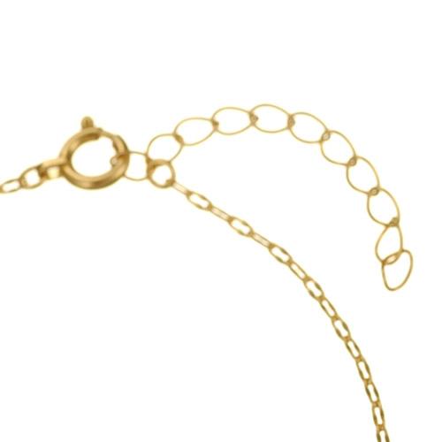 K18 ブレスレット foliole chain
