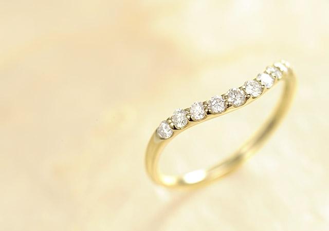 K18 ダイヤモンド リング mellow