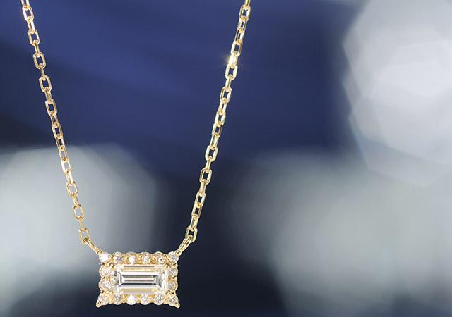 K18 ダイヤモンド ネックレス core