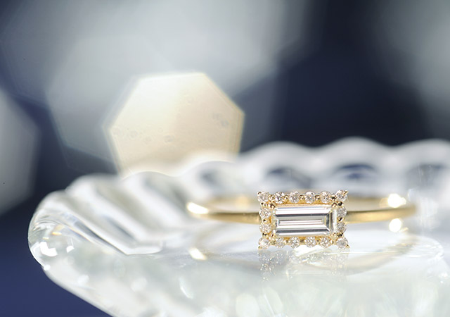 K18ダイヤモンド リング core