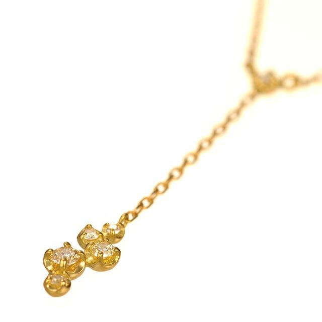 K18ダイヤモンドネックレス accord