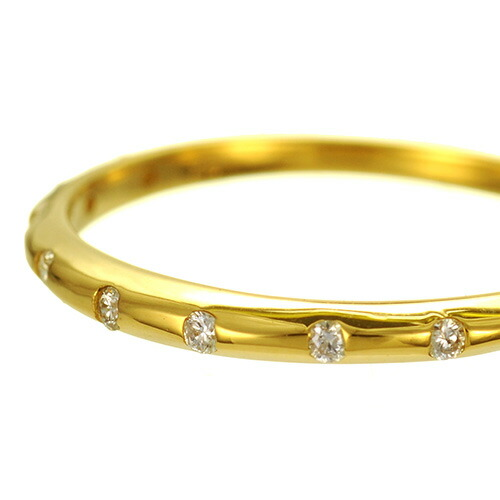 K18 diamond ring timeless