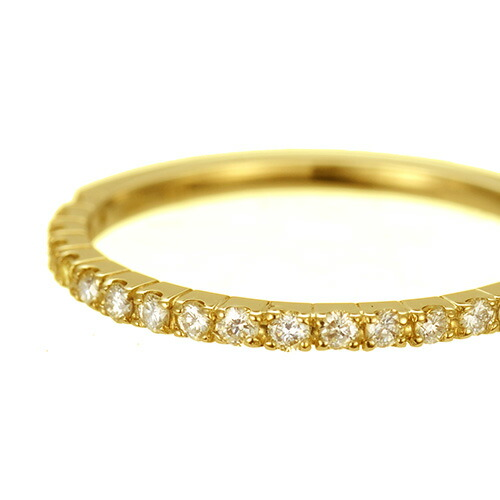 K18 diamond ring eternal