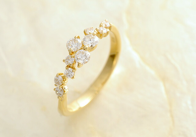 K18 diamond ring prime