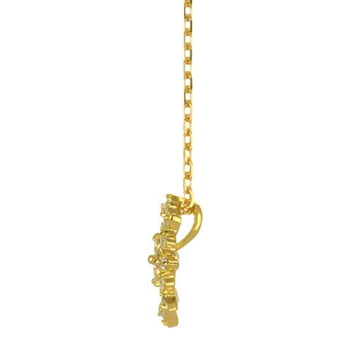 K18 diamond necklace idea