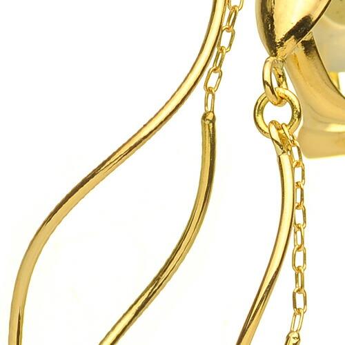 K18 Earring spiral