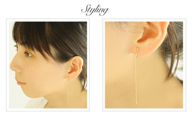 K18 Earring flow