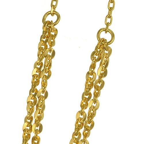 K18 Earrings glisten drape