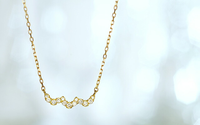 K18 diamond necklace prize
