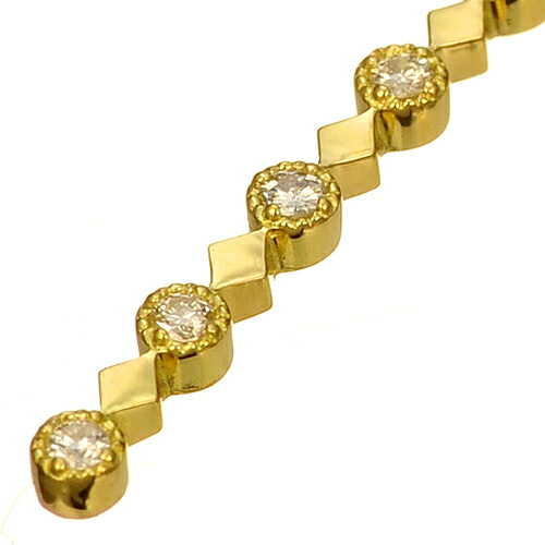 K18 diamond necklace lulu