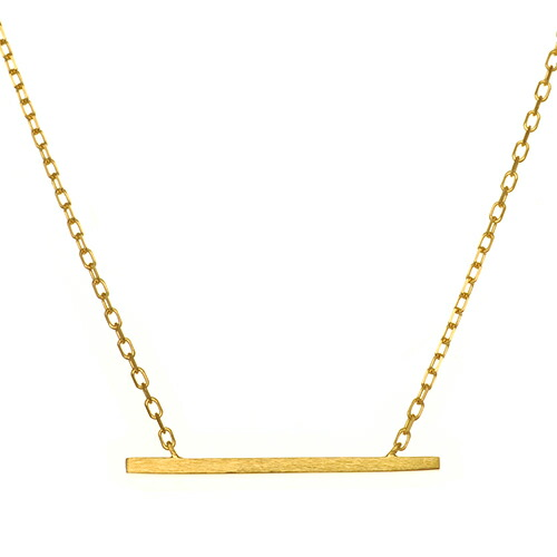 K18 necklace straight