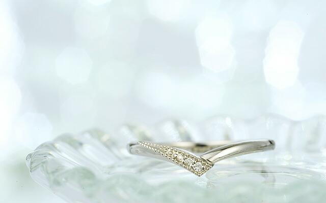 K18ダイヤモンドリングTOMONI