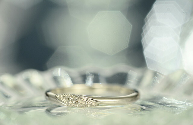 K18ダイヤモンドリングKIZUNA