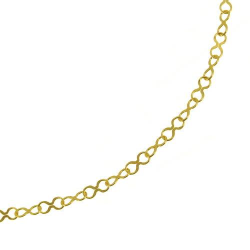 K18ロングネックレス petit infinity 60