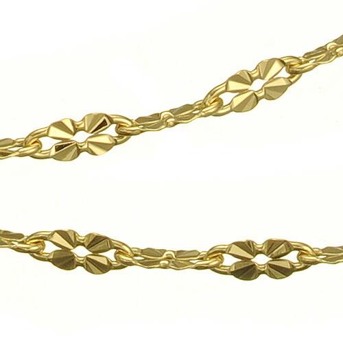 K18ブレスレット clover chain