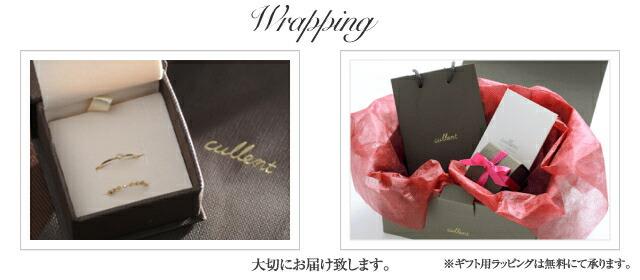 K18ダイヤモンドピンキーリングセットmille-feuille