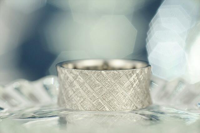プラチナリング fabric dent