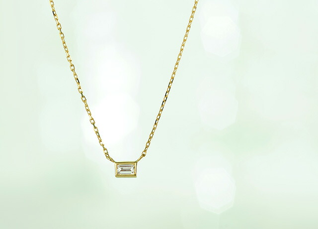 K18ダイヤモンドネックレス step