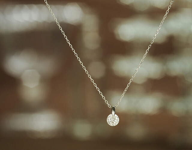 ダイヤモンドネックレスNude0.5ct