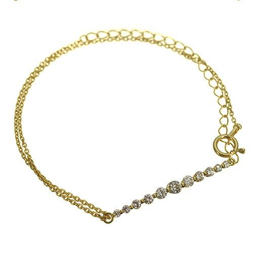 K18 diaond bracelet GraceLine