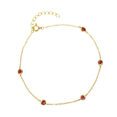 K18 birthstone bracelet K18誕生石 ブレスレット  liberty station