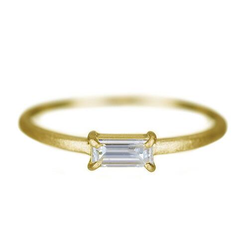 K18ダイヤモンドリング