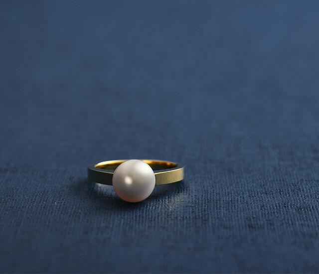 真珠リング