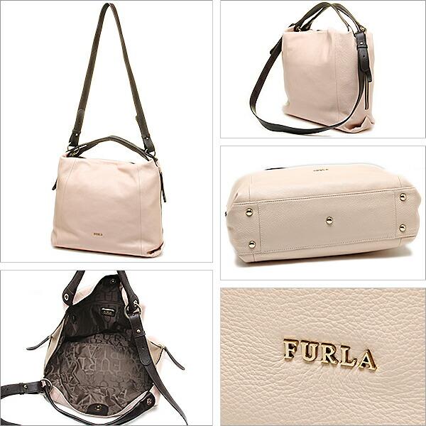 e65687290b76 ... フルラ ハンドバッグ CANDY ライト グレーGOMMA手提げカバン鞄 かばんハンド バッグ
