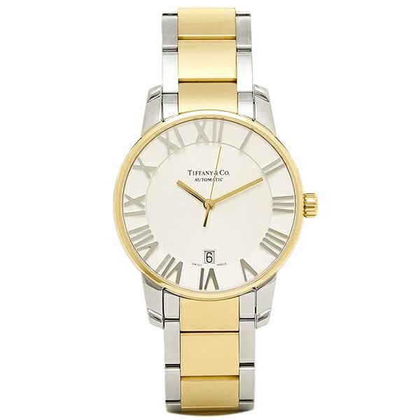 【6時間限定ポイント10倍】ティファニー TIFFANY & Co 時計 腕時計 メンズ ティファニー 時計 メンズ TIFFANY&Co Z18006815A21A00A 自動巻 ATLAS DOME アトラス 腕時計 ウォッチ シルバー