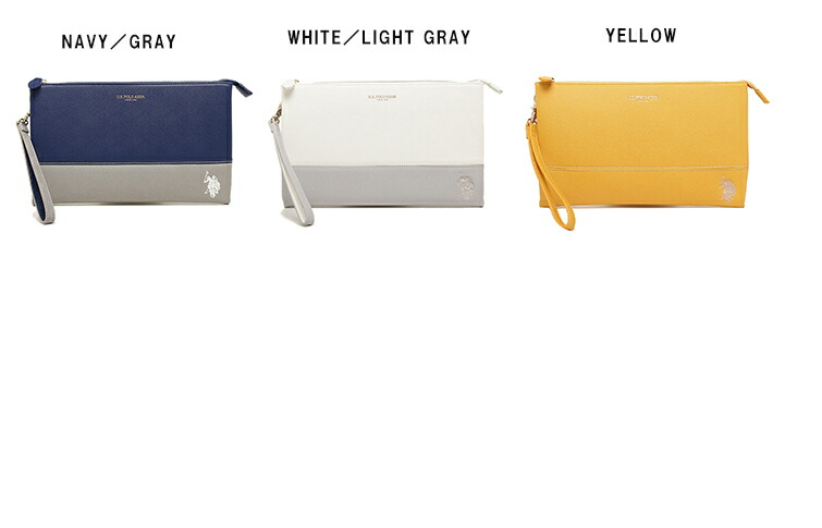 0e68ba126c6 Clutch bags of the extreme popularity are available from US POLO ASSN (US  polo association)