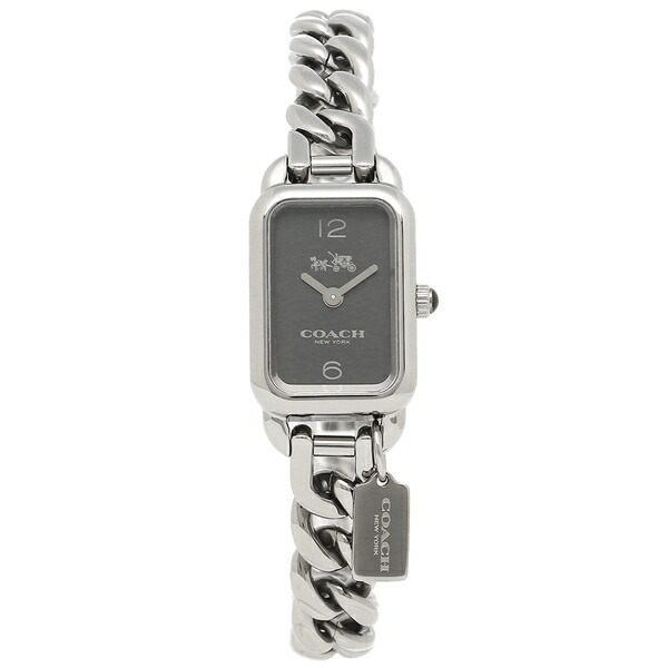 【6時間限定ポイント10倍】【返品OK】コーチ 腕時計 レディース COACH 14502722 シルバー ブラック